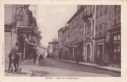 (2)   RIVES - Rue De La République - Autres Communes