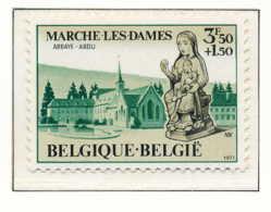 D - [150863]SUP//**/Mnh-N° 1571, Abbaye Notre Dame Du Vivier à Marche-les-Dames, SNC - Belgique
