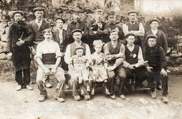 FOTOKAART ST-MARIA OUDENHOVE VERMEEREN 1915  ZOTTEGEM ALFONS GOESSENS, CEUTERICK, KAMIEL MAGINET - Old Paper