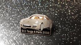 PIN S - VOITURE 911 TARGA 4 PARIS 2008 - Otros