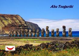 Easter Island Ahu Tongariki Rapa Nui UNESCO New Postcard Osterinsel AK - Rapa Nui