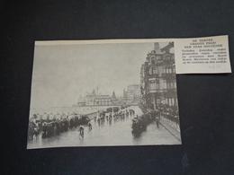 """Origineel Knipsel ( 3170 ) Uit Tijdschrift """" Ons Volk """"  1933 :  Oostende   Ostende  Koers  Renner - Non Classés"""