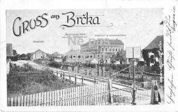 Gruss Aus Brcka -mit Bahnhof - Serbisches Hotel - Handelsschule - 189? - Bosnia And Herzegovina