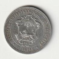 1/2 Rupie 1901 Deutsch Ostafrika TTB-SUP - Afrique De L'Allemagne De L'Est