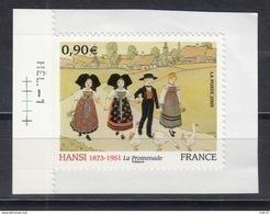 Hansi, AUTO ADHESIF N° 370,  2009  Neuf **   Grande Marge - Luchtpost
