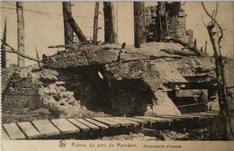 Merkem //Militair - WW1 - Guerre // Ruines Du Parc De Merkem - Observatoire Allemand 19?? - Other