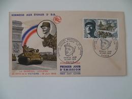 FDC  KERMESSE AUX ETOILES 2 ° DB GENERAL LECLERC MILITAIRE MILITARIA 1969 - 1960-1969