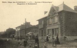 22 - Côtes D'Armor - Plage Des Rosaires - Avenue D'Armorique - Magasins Et Restaurant - D 3888 - Altri Comuni