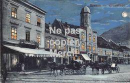 Brașov Kronstadt Brassó - Mondscheinkarte Mit Kutschen - 1915 - Roumanie