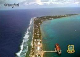 Tuvalu Funafuti Atoll Aerial View New Postcard - Tuvalu