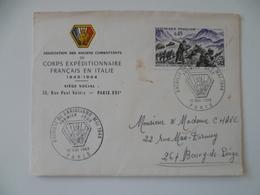 CORPS EXPEDITIONNAIRE FRANCAIS EN ITALIE  BATAILLE DU GARIGLIANO  MILITAIRE MILITARIA 1969 - 1961-....