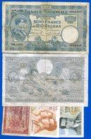 Belgique  5  Billets - [ 2] 1831-... : Regno Del Belgio