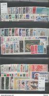 FRANCE ANNEE COMPLETE 1970/1978 XX MNH Neufs - Sauf 1973 - France