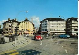 YVERDON PONT DE GLEYRES ,VW COCCINELLE ,JOLI PLAN COULEUR ,  REF 62704 - VD Vaud