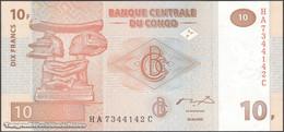TWN - CONGO DEM. REP. 93A - 10 Francs 30.6.2003 HA-C (HdM) UNC - Repubblica Democratica Del Congo & Zaire