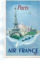 Publicité : Cpa Air France Paris - Advertising
