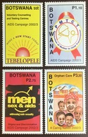 Botswana 2002 AIDS Campaign MNH - Botswana (1966-...)