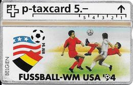 Switzerland: PTT KP-94/6U 504L Fussball WM94 - Belgien - Svizzera