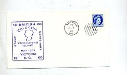 Lettre Flamme Victoria Sur Reine - 1952-.... Regno Di Elizabeth II