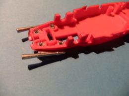 SCALEXTRIC FERRARI 156 F 1 ALTAYA ACCESORIO CHASIS Con Tubos Escape - Accessories