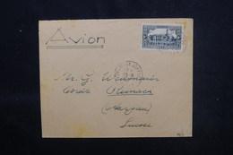ALGÉRIE - Enveloppe D'un Évangéliste De Oran Pour La Suisse En 1942 - L 52889 - Briefe U. Dokumente