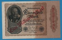 DEUTSCHES REICH 1 Milliarde Mark15.12.1922# 102E  125712 P# 113a - [ 3] 1918-1933 : Repubblica  Di Weimar