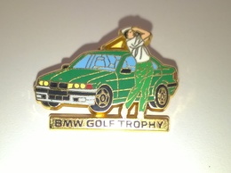 "PIN'S GOLF Et AUTOMOBILE "" BMW Golf Trophy "" - Golf"