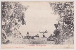 Valkeveen Bij Naarden - Strandgezicht Met Volk - 1904 - Naarden