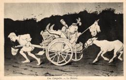 Frankreich, Politische Kartikatur, Une Conquete - Le Retour - Satirische