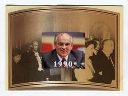 CP °_ An 1990-Pdt Gorbachev -Prix Nobel De La Paix - Prix Nobel
