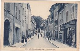 Jura : LONS-le-SAUNIER : Rue St-désiré ( Belle Animation - Devanture De Tabacs ) - Lons Le Saunier