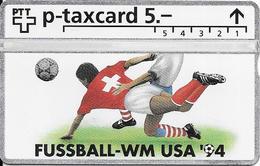 Switzerland: PTT KP-94/6A5 407L Fussball WM94 - 5. Auflage - Svizzera