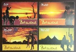 Botswana 2001 Scenic Skies Sunsets MNH - Botswana (1966-...)