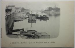 CHALON SUR SAONE Quai De La Navigation Pont St-Laurent - Chalon Sur Saone
