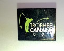 """PIN'S GOLF """" Trophée CANAL + 1991 """" - Golf"""