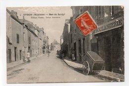 - CPA EVRON (53) - Rue De Saulgé 1915 (BOULANGERIE) - Edition Fortin N° 4 - - Evron