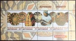 Botswana 2001 Baskets Minisheet MNH - Botswana (1966-...)