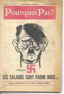 Pourquoi Pas ? Hitler  Les Salauds Sont Parmi Nous Janvier 1960 104 Pages - Guerre 1939-45