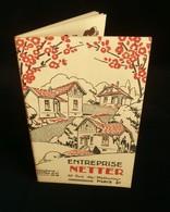 ( Architecture Construction ) Catalogue Maisons NETTER PARIS 1930 - Francia