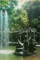 Baku - The 9th Of January Garden - Three Graces Sculpture - Fountain - 1972 - Azerbaijan USSR - Unused - Azerbaïjan