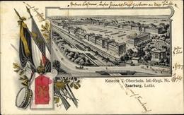 Passepartout Cp Sarrebourg Saarburg Moselle, Kaserne I. Oberrhein Inf. Regt. Nr. 97 - Autres Communes