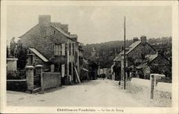 Cp Châtillon-en-Vendelais Ille-et-Vilaine, Le Bas Du Bourg - Other Municipalities