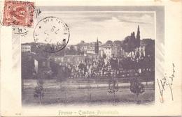 FIRENZE  CIMITERO PROTESTANTE   1922 (FEB20645) - Firenze (Florence)