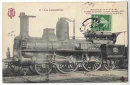 CPA LES LOCOMOTIVES Machine De La Cie PLM Modèle 1877 - Trenes