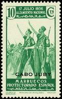 Cabo Juby 088 (*) Alzamiento. 1935. Sin Goma - Kaap Juby