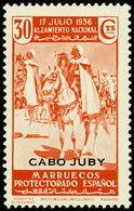 Cabo Juby 092 ** Alzamiento. 1935 - Cabo Juby