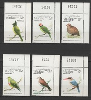 Laos 1988 Mi 1082-1087 Vögel / Birds / Oiseaux / Pájaros / Uccelli / 鳥類  **/MNH - Passereaux
