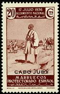 Cabo Juby 090 ** Alzamiento. 1935 - Kaap Juby