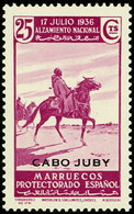 Cabo Juby 091 ** Alzamiento. 1935 - Kaap Juby