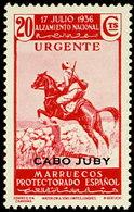 Cabo Juby 101 ** Alzamiento. 1935 - Kaap Juby